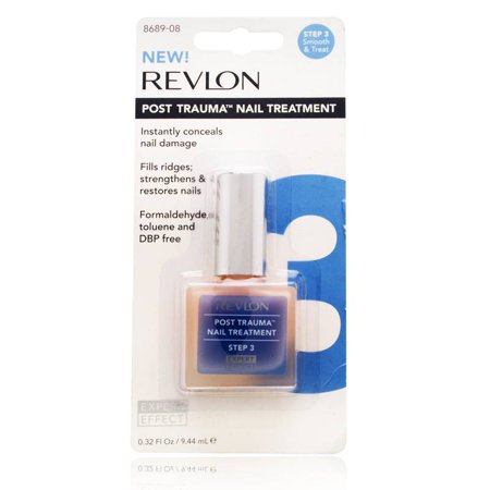 Revlon Post Trauma Nail Treatment (Step 3) 9.44ml/0.32oz - Walmart.com