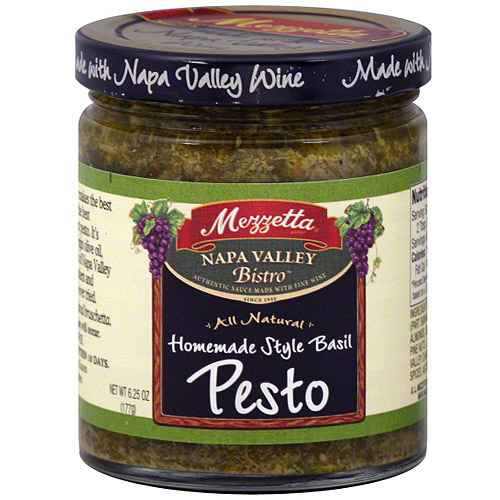Mezzetta Homemade Style Basil Pesto, 6.25 oz (Pack of 6)