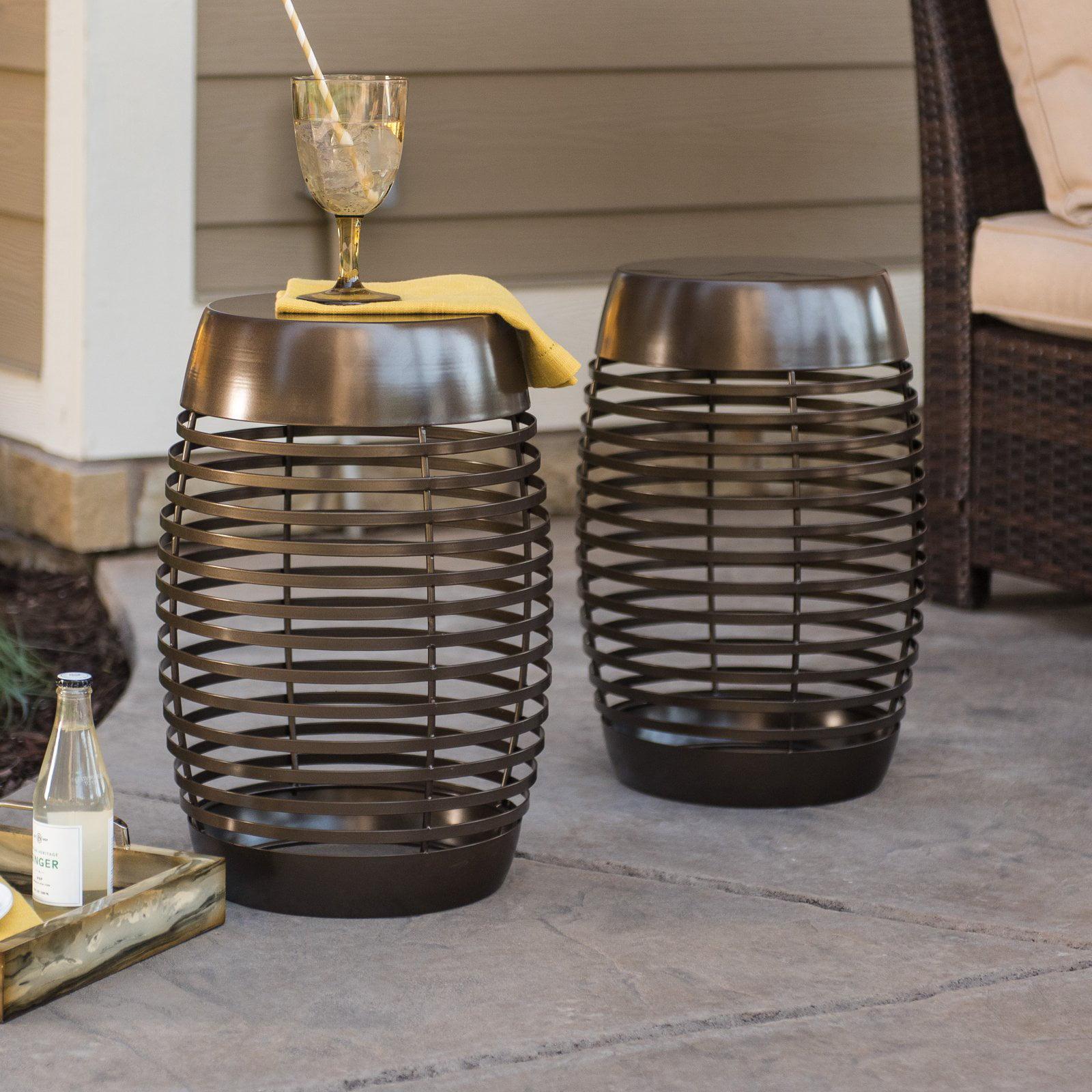 Phenomenal Coral Coast Ashby Metal Garden Stool Walmart Com Beatyapartments Chair Design Images Beatyapartmentscom