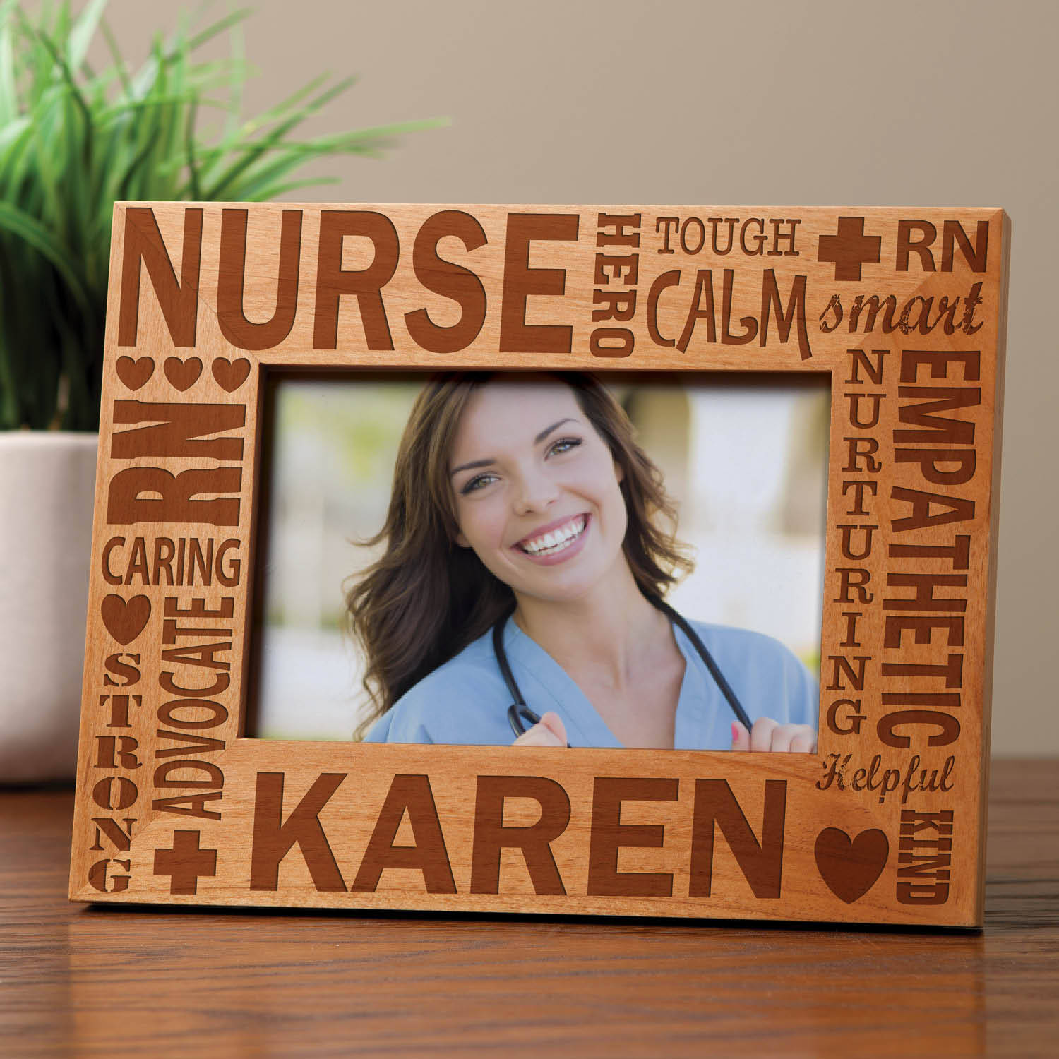 Personalized Special Nurse Frame