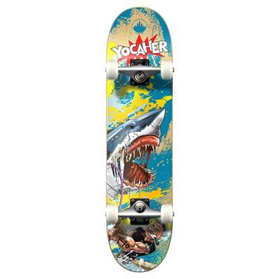 Yocaher Graphic Complete Skateboard - Retro Series - Fishing