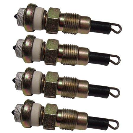 710348R1 Four 4 Glow Plugs for Case IH Tractors B414 B250 B275