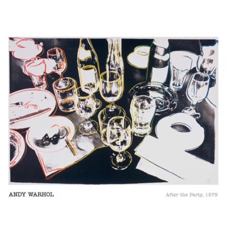 Andy Warhol Dollar Sign (After the Party 1979 Poster Print by Andy Warhol (20 x 16) )
