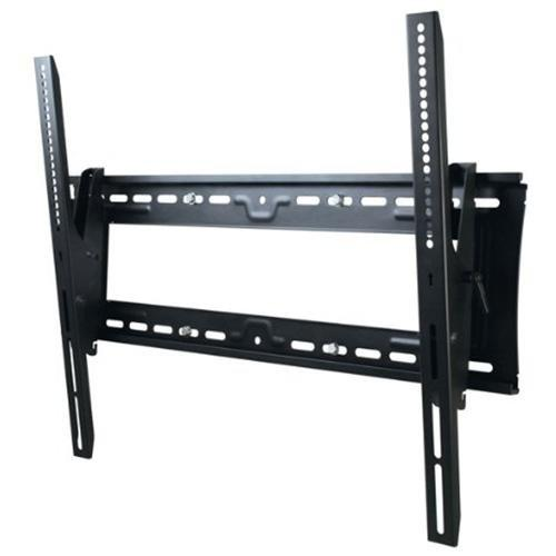 "Telehook TV Wall Tilt Mount Universal VESA with Security Feature - For Flat Panel Display - 32"" to 65"" Screen Support - 91 kg Load Capacity - Steel - Black - Atdec th-3070-ut-taa"