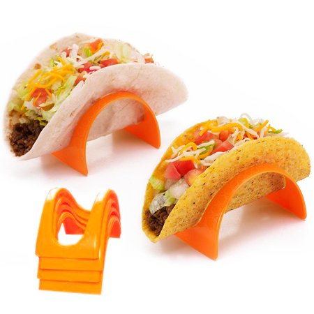 Diy Taco Holder (8 Pc Taco Stands Tortilla Shell Fajita Holder Rack Stand Dinner Table Kids)