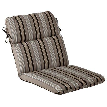 Outdoor Patio Furniture High Back Chair Cushion Black