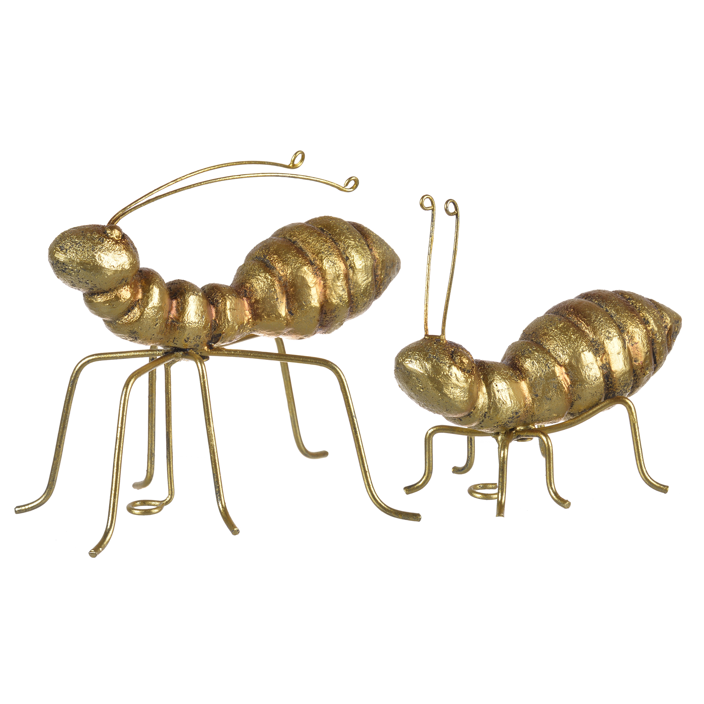 A&B Home Ant Sculptural Accents, Set of 2