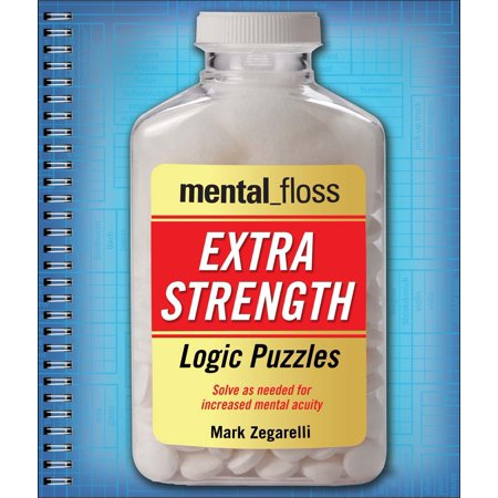 Logic Puzzle Books (Mental_floss Extra-Strength Logic Puzzles)