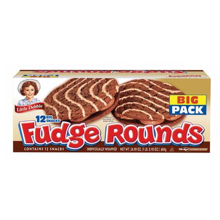 Little Debbie Series (Little Debbie Fudge Rounds, 12 pk./24.1 oz.)