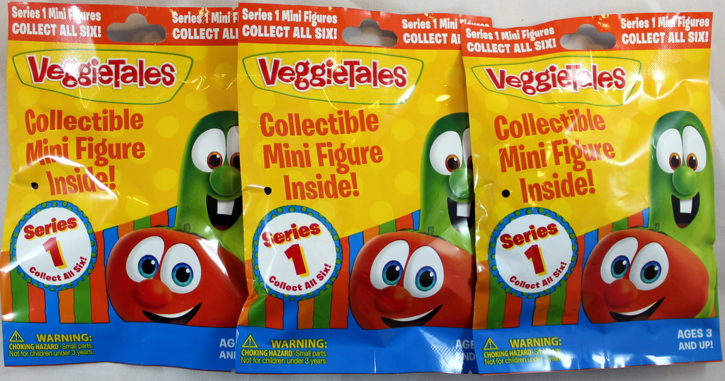 VeggieTales Blind Bag 3 Set by