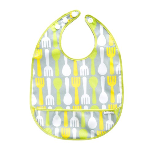 JJ Cole Bib, Citrus Snack Multi-Colored