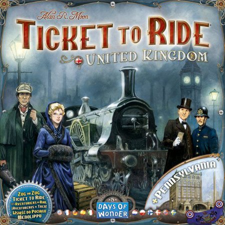 Days of Wonder Ticket to Ride Map Collection Volume 5 - United Kingdom