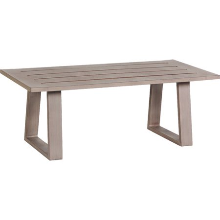 Teva Patio Aruba Aluminum Patio Coffee Table