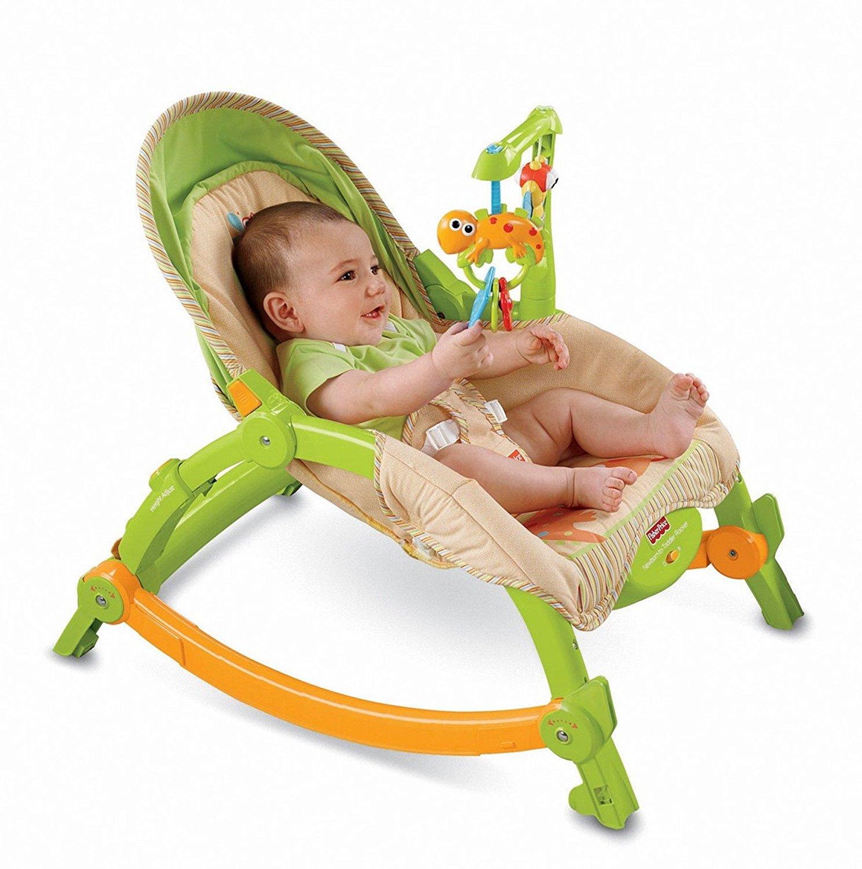 Fisher Price Newborn-to-Toddler Portable Rocker, USA, Brand Fisher-Price