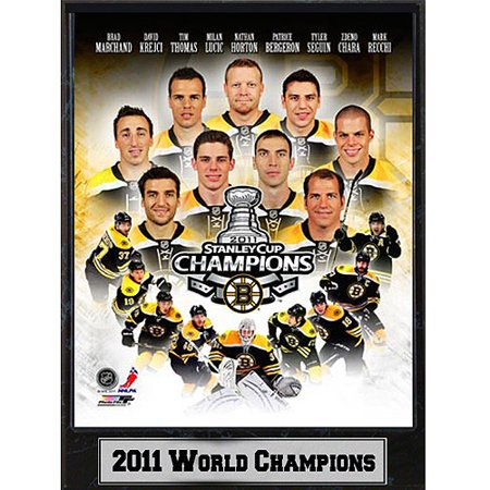 NHL Boston Bruins Photo Plaque, 9x12 by