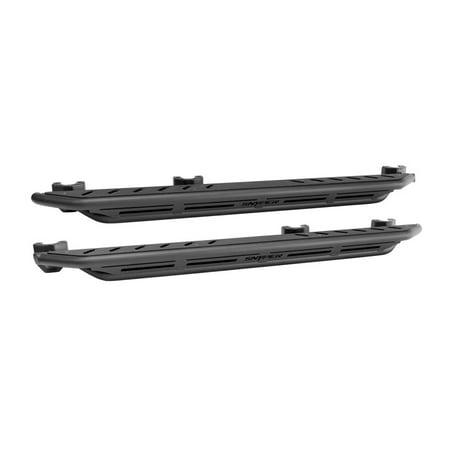 - Westin/Snyper 07-17 Jeep Wrangler Unlimited Triple Tube Rock Rail Steps - Textured Black