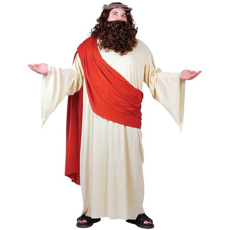 Jesus Deluxe Costume - Plus Size](Jesus Costume Ideas)