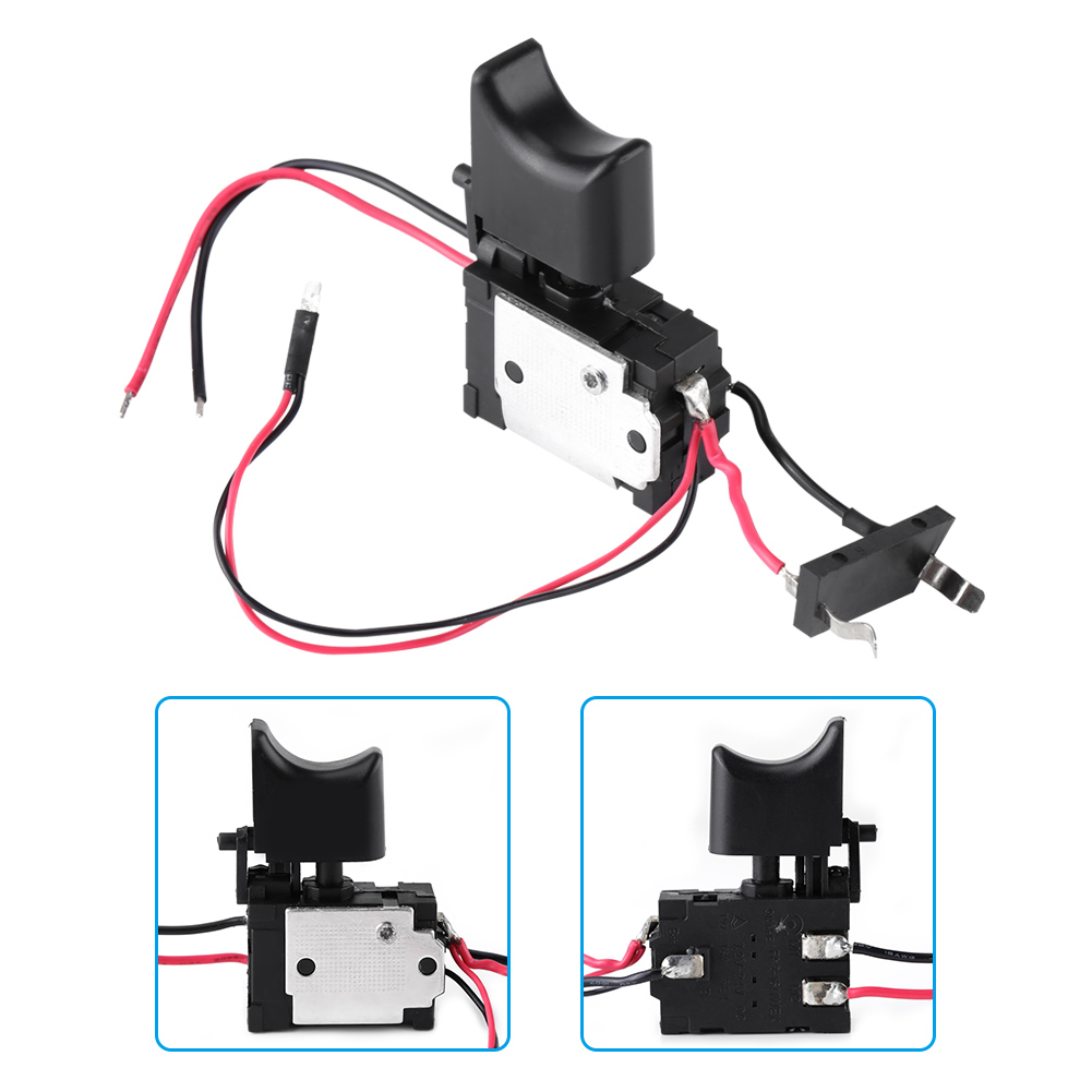 Electric drill switch,12V Lithium Battery Cordless Drill Speed Control Trigger