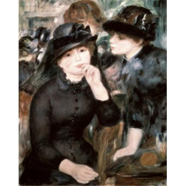 Posterazzi SAL261112 Two Women Pierre-Auguste Renoir 1841-1919 French Oil on Canvas Pushkin Museum of Fine Arts Moscow Russia - 18 x 24 in. - image 1 of 1