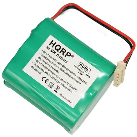 - HQRP 2200mAh Battery for Mint 4200 / GPHC152M07 Ultra High Capacity [Robotic Vacuum Cleaner] plus HQRP coaster