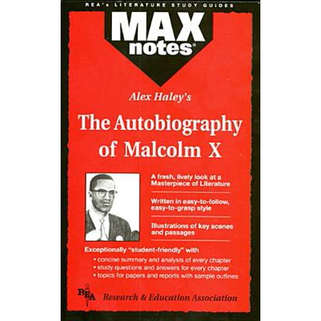 Autobiography of Malcolm X as Told to Alex Haley, the (Maxnotes Literature