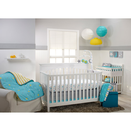 Little Bedding by NoJo Twinkle Twinkle 3pc Crib Set