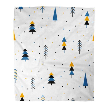 ASHLEIGH Throw Blanket 50x60 Inches Abstract Forest New Year Christmas Album Holiday Baby Nappy Warm Flannel Soft Blanket for Couch Sofa Bed