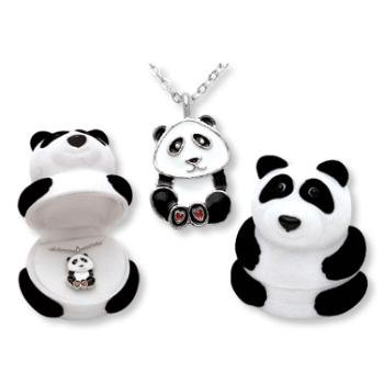 DDI 433647 Panda Animal Necklace in Panda Box Case Of 24