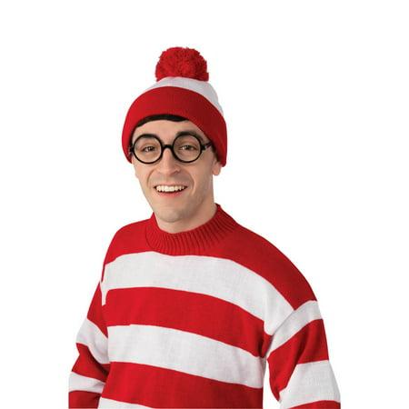 Where's Waldo Deluxe Hat (Halloween Hut)
