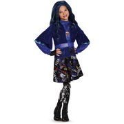 Evie Isle Of The Lost Deluxe Girls The Descendants Disney Costume And Wig Bundle