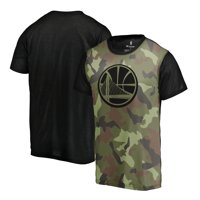 Golden State Warriors Fanatics Branded Camo Collection Blast Sublimated T-Shirt - Camo