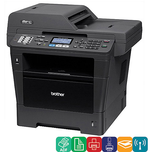 Brother PP4446M Brother Printer MFC8710DW Wireless Monochrome Printer with Scanner Copier and Fax