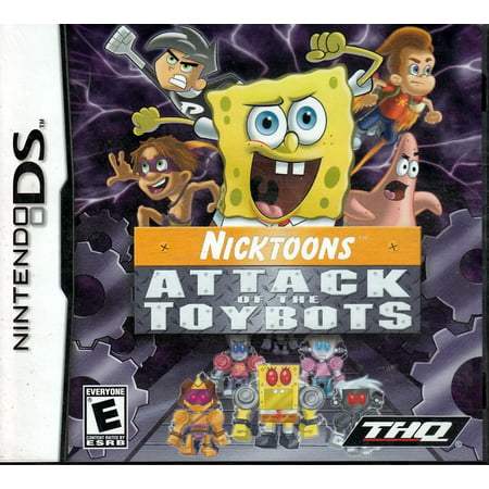 Nicktoons: Attack of Toybots (DS)