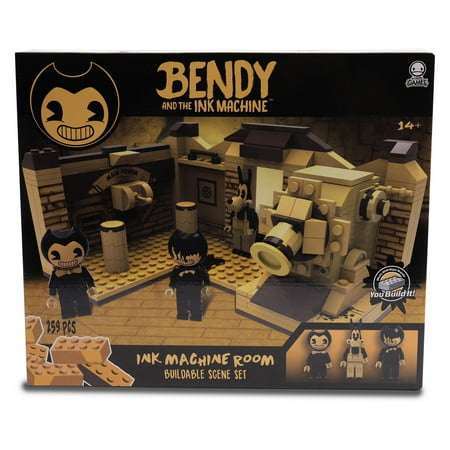 Bendy and the Ink Machine C3 Construction Ink Machine Room Buildable Scene (Bendy And The Ink Machine Play Now)
