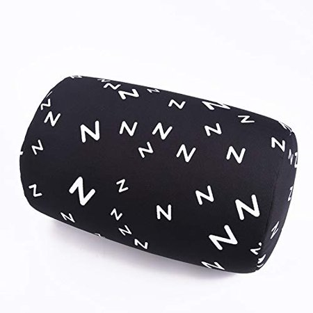 Bookishbunny Micro Bead Roll Squishy Cushion Hypoallergenic Post Surgery Back Neck Head Travel Pillow