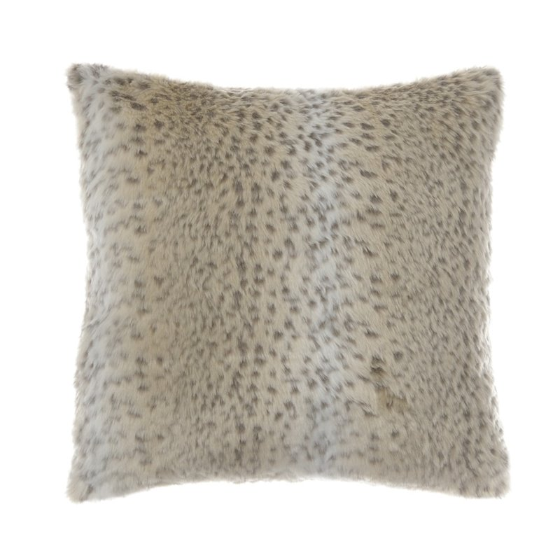 Ashley Rolle Throw Pillow in Tan (Set of 4)