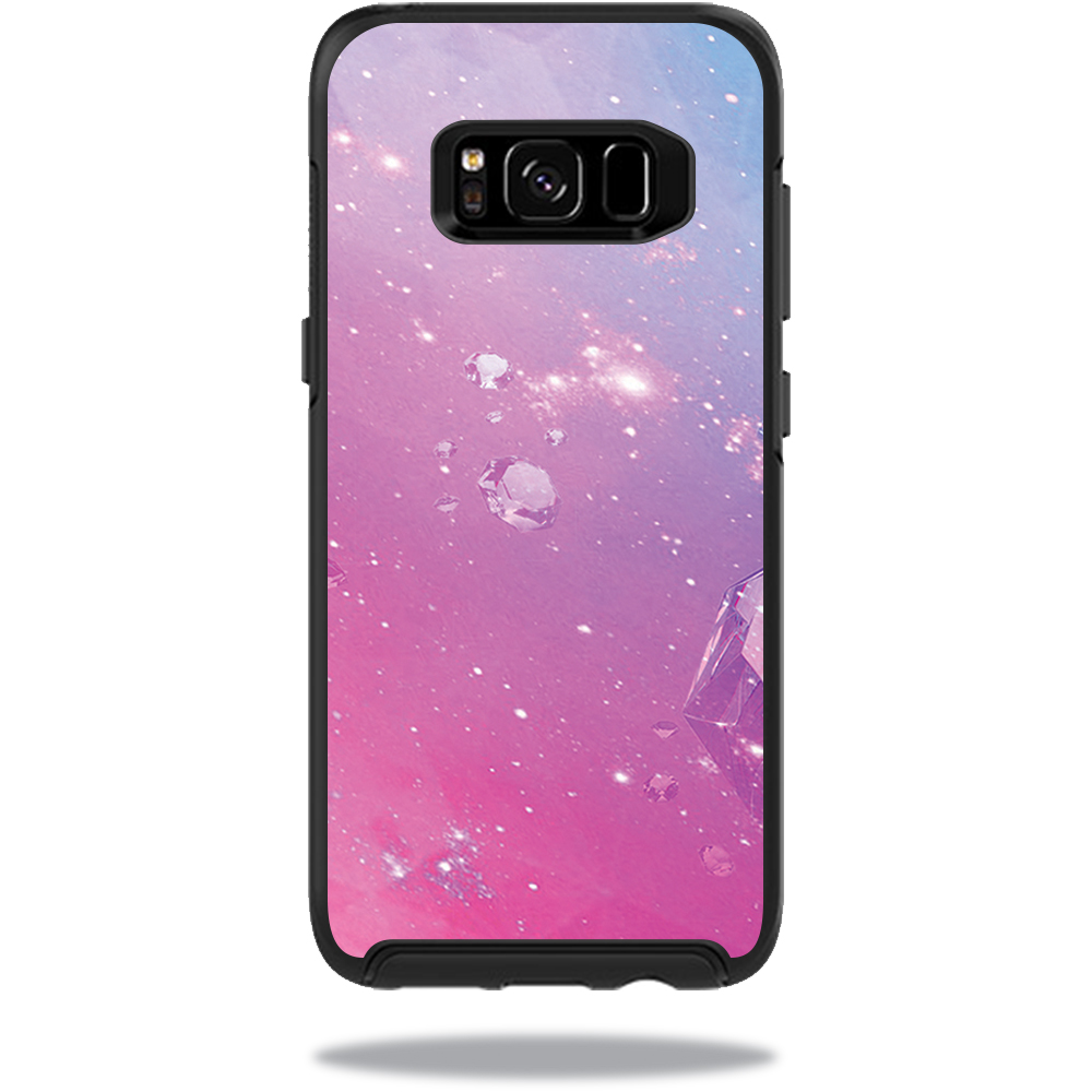 MightySkins Protective Vinyl Skin Decal for OtterBox SymmetrySamsung Galaxy S8 Case sticker wrap cover sticker skins Pink Diamond
