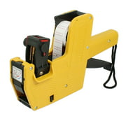 Yellow Plastic Shell Handheld Shopping Price Labeller Labeler Tag