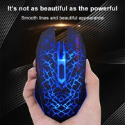 Freedo 2. 4GHz Wireless  Noiseless Mouse, Gaming Mouse  Rechargeable For for Laptop and Computer,Colorful LED Lights BLUE - image 2 of 8
