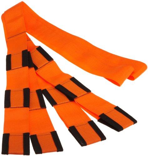 Value Brand 700 lb. Capacity, Forearm Forklift Lifting Straps, Safety Orange/Black L74995CN