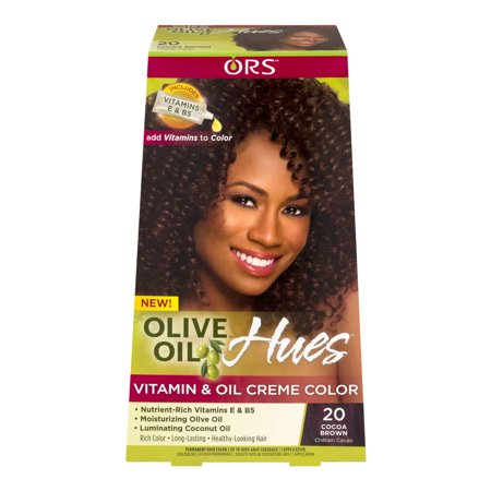 - ORS Olive Oil Hues Vitamin and Oil Creme Color, 20 Cocoa Brown, 1 ea