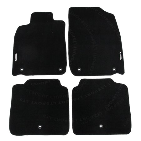 For 13-15 LEXUS ES350 Sedan Custom Fit Premium Nylon Black Floor Mats Carpet For 2013 2014 2015 13 14 15 LEXUS (Lexus Luxury Sedan)
