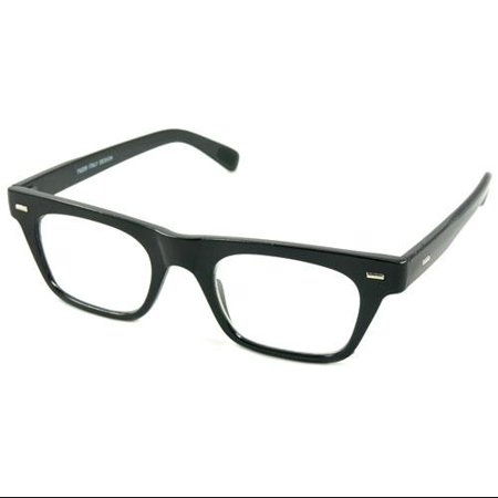 Readers.com The Madden +2.00 Black Reading Glasses