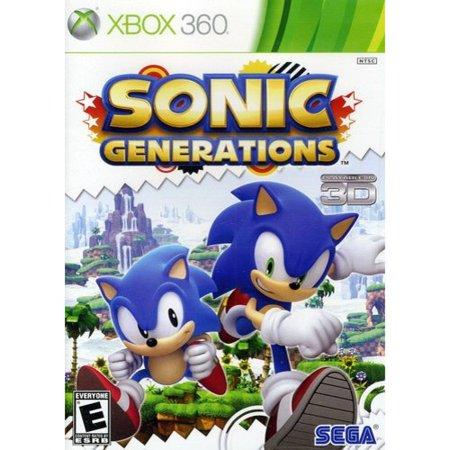 Sonic Generations  Xbox 360  Sega  10086680560