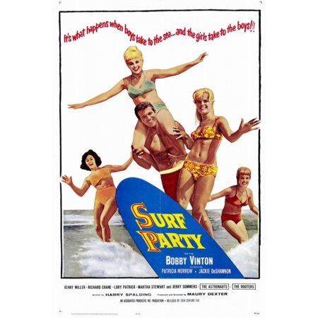 Surf Party Movie (Surf Party Movie Poster Print (27 x)