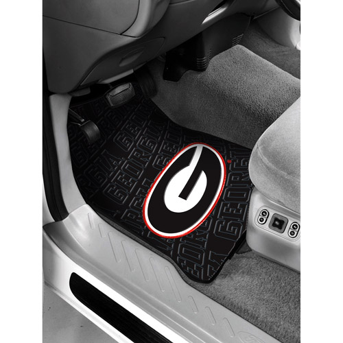 NCAA -Georgia Floor Mats - Set of 2