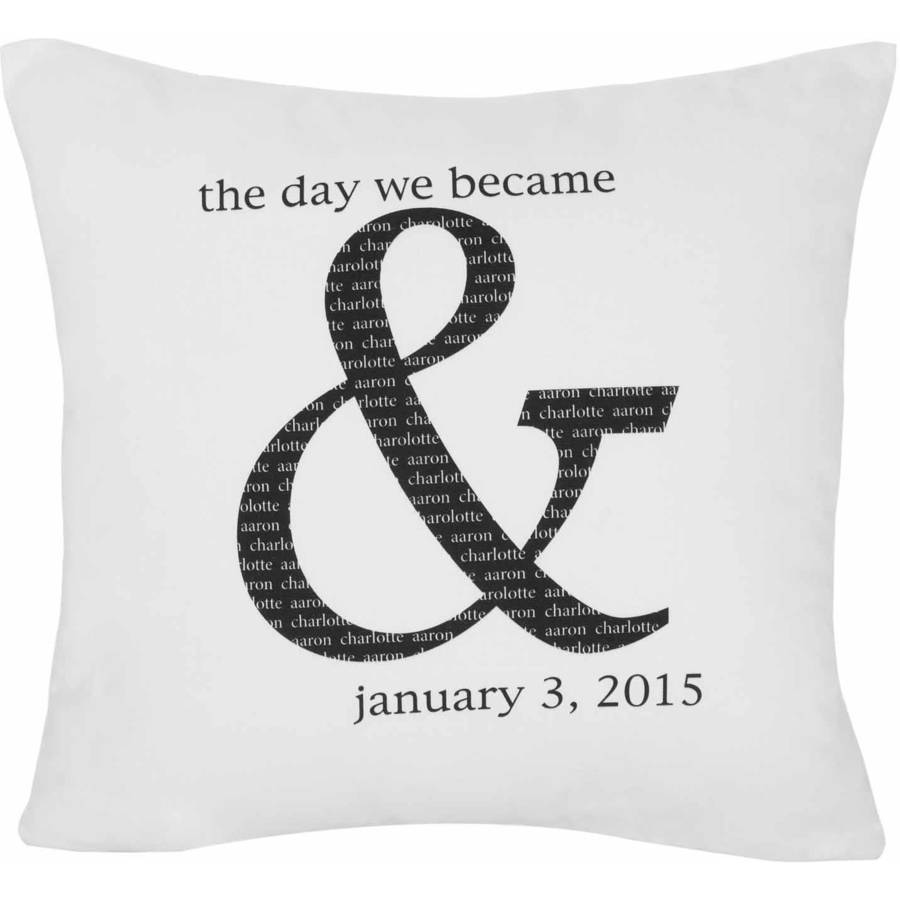 Personalized The Day We Became and Pillow
