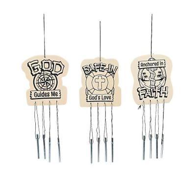 Western Vbs (IN-13797937 Color Your Own VBS Island Wind Chimes Per)