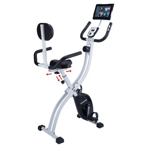 Innova Fitness XBR450 Dual-Function Folding Upright Bike with Backrest