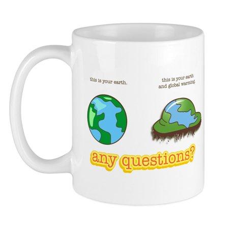 CafePress - Global Warming Mug - Unique Coffee Mug, Coffee Cup CafePress (Global Warming Coffee Mug)